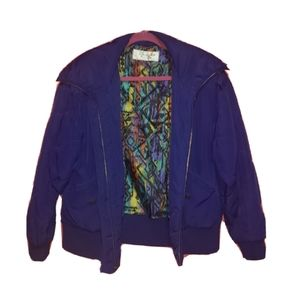Mulberry street lifestyle jacket royal blue puff S